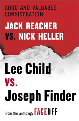Lee Child Good And Valuable Consideration